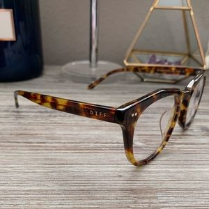 d0560f33db7c9 Diff Eyewear Accessories - DIFF Eyewear Blue Light Weston Tortoise  Eyeglasses
